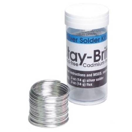 STAY-BRITE, SOLDER AND FLUX