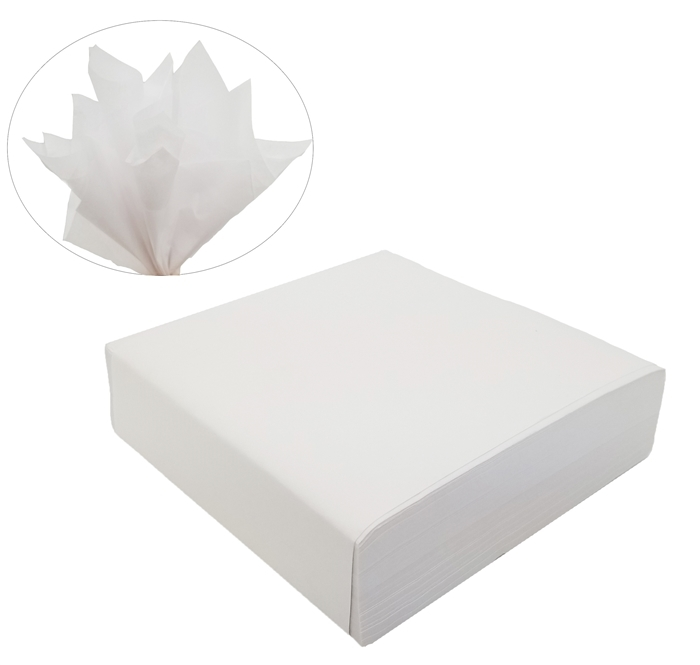 "5"" x 5"" Anti Tarnish White Tissue (Pack of 1000 Sheets)"