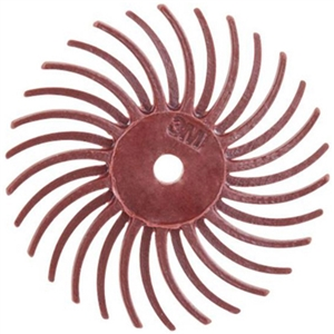 3M Radial Discs Red 220 Grit 3/4""