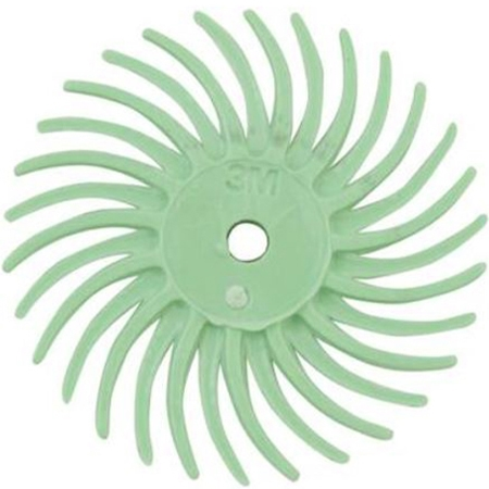 3M Radial Discs Green 50 Grit 1""