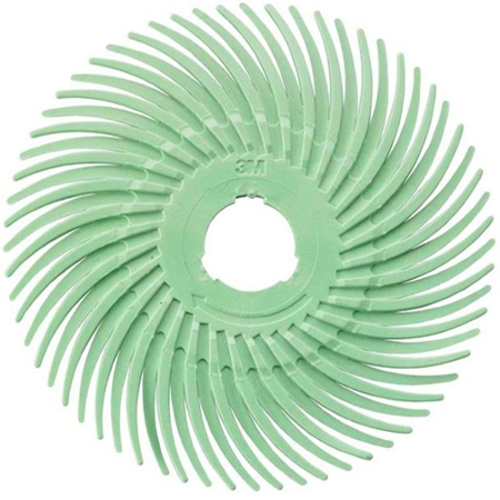 3M Radial Discs Light Green 1 Micron Grit 3""