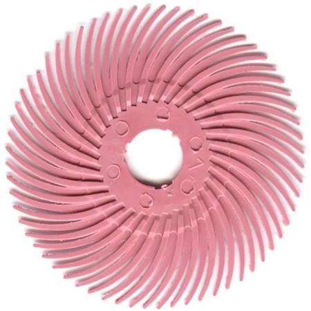 3M Radial Discs Pink Pumice 3""