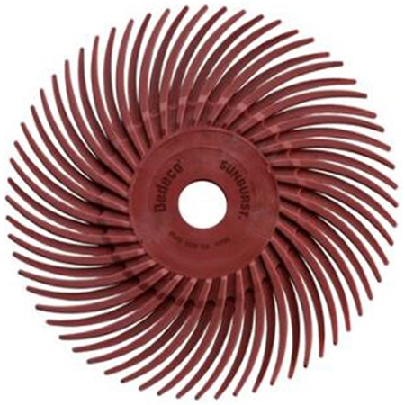3M Radial Discs Red 220 Grit 3""