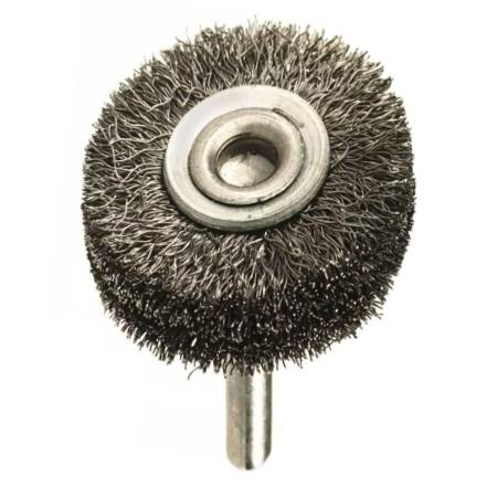Mandrel Mounted Wheel Steel Brush