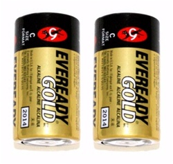 C Battery Gold Alkaline