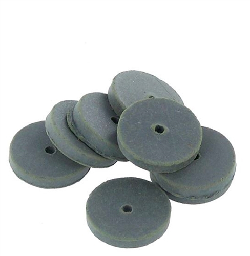 CRATEX® ABRASIVES wheel, no. 53 extra fine, grey