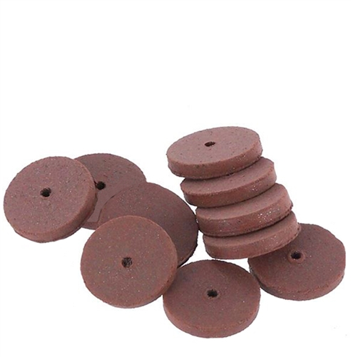 CRATEX® ABRASIVES wheel, no. 53 fine, red