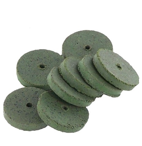 CRATEX® ABRASIVES wheel, no. 53 coarse, green