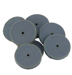 CRATEX® ABRASIVES wheel, no. 74. extra fine, grey
