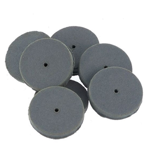 CRATEX® ABRASIVES wheel, no. 80 extra fine, grey