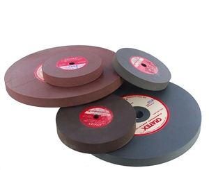 CRATEX® ABRASIVES wheel, no. 256 fine, red
