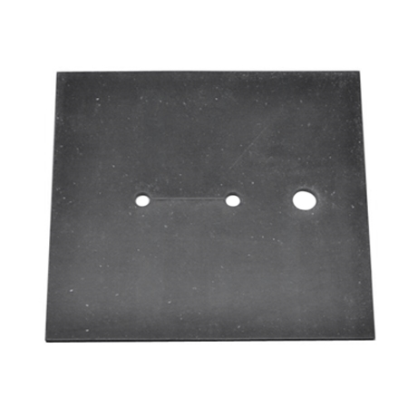 RUBBER PAD FOR VACUUM TABLE 10 5/8'' X 10 5/8''