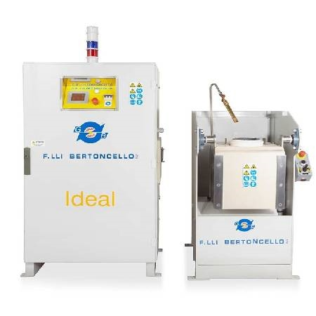 Ideal 25 Induction Melting Furnace High Capacity 25Kg Gold Melter