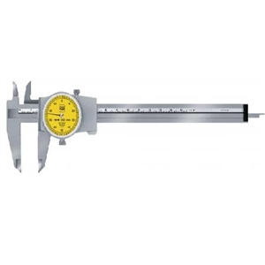 MITUTOYO® STEEL DIAL CALIPER, INCHES