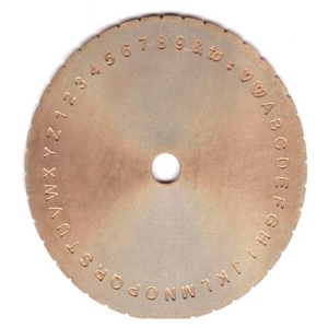 ENGRAVING PRESIDIUM BLOCK DISC 2 SIDE