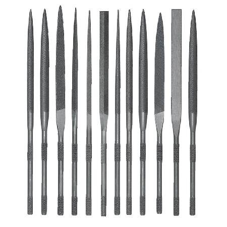 GROBET FILE,16CM SET/12 CUT 2