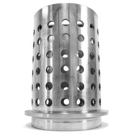 "S.S. Perforated flask - 3"" x 4"""