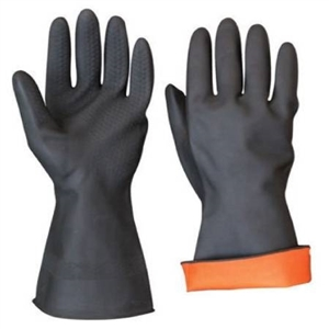 GLOVES,RUBBER 18 INCH