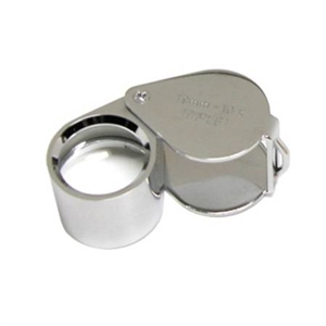 Diamond Loupe -10X TRIPLET CHROME