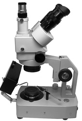 Gemological Stereo Microscopes with Trinocular Zoom Body