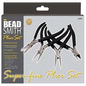 JEWELERS PLIER, ECONO SET OF 4