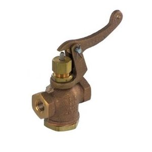 Manual steam release valve