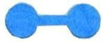 Elephant Hyde Tags Reg Size Blue