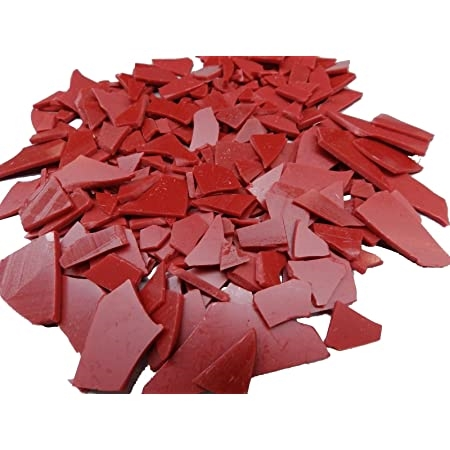 Wax Injection Flakes Ruby Red