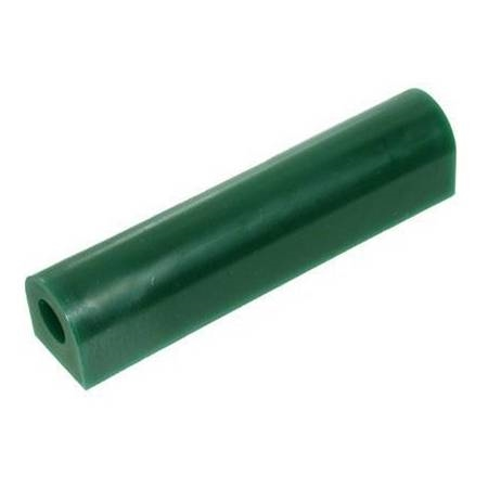 "WAX TUBE FLAT - 1-5/16"" h x 1-3/16""w GREEN"