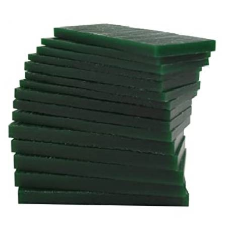 FILE -A- WAX , WAX SLABS 1LB.GREEN