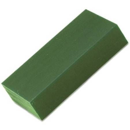 FILE -A- WAX , WAX BLOCKS 1 LB, GREEN