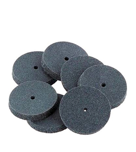 Abrasive/Polisher -7/8 SQUARE EDGE WHEEL DARK GRAY