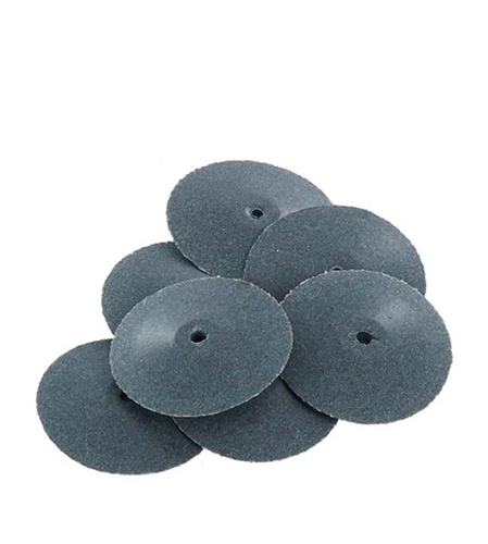 Abrasive/Polisher -7/8 KNIFE EDGE WHEEL, DARK GRAY