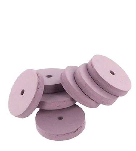 Abrasive/Polisher -7/8 SQUARE EDGE WHEEL PINK