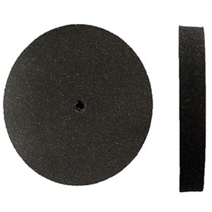 Abrasive/Polisher -SILICONE WHEEL BLACK 7/8 MEDIUM