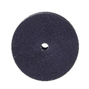 Abrasive/Polisher -SILICONE WHEEL 5/8,BLACK MEDIUM.