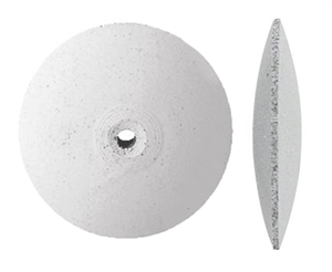 SILICON WHITE WHEEL Knife Edge 7/8 Coarse