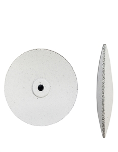 Gumees Final Polishing Wheel Knife Edge 7/8 White, Coarse
