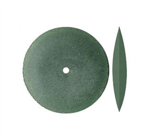 Gumees Polishing Wheel Knife Edge 7/8 Green, Medium