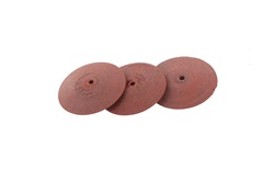 Gumees Polishing Wheel Knife Edge 7/8 Red, Extra Fine