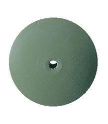 Eveflex Polishing Wheel Knife Edge 7/8 Green, Extra Fine