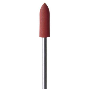 Eveflex Mounted Polishing Wheel Bullet Red, Fine
