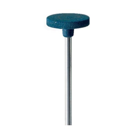 Eveflex Mounted Polishing Wheel Blue, Coarse