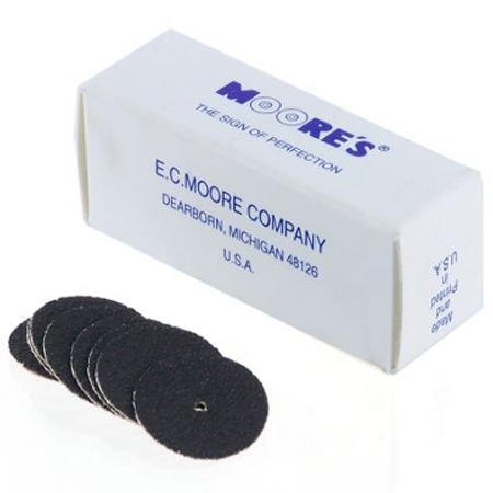 "Emery Pinhole Discs, 7/8""  Dia,Medium"