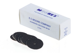 "Emery Pinhole Disc  1/2"" Medium"